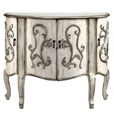 Forest River Coffer Demilune 4 Door Accent Cabinet by August Grove