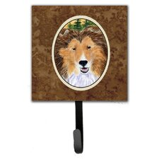 Sheltie Leash Holder and Key Hook by Caroline's Treasures
