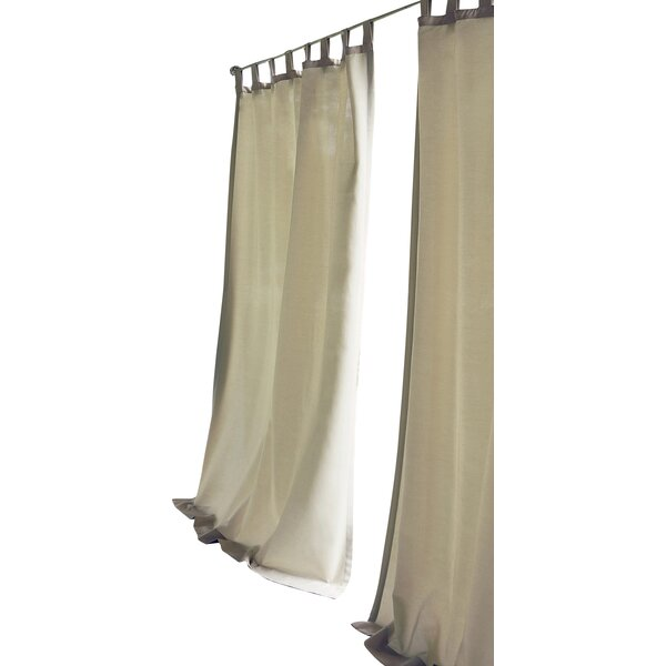 tiburon single curtain panel
