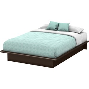 back bay platform bed - Platform Frame Bed