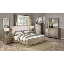 Garneau Upholstered Panel Bed by Laurel Foundry Modern Farmhouse