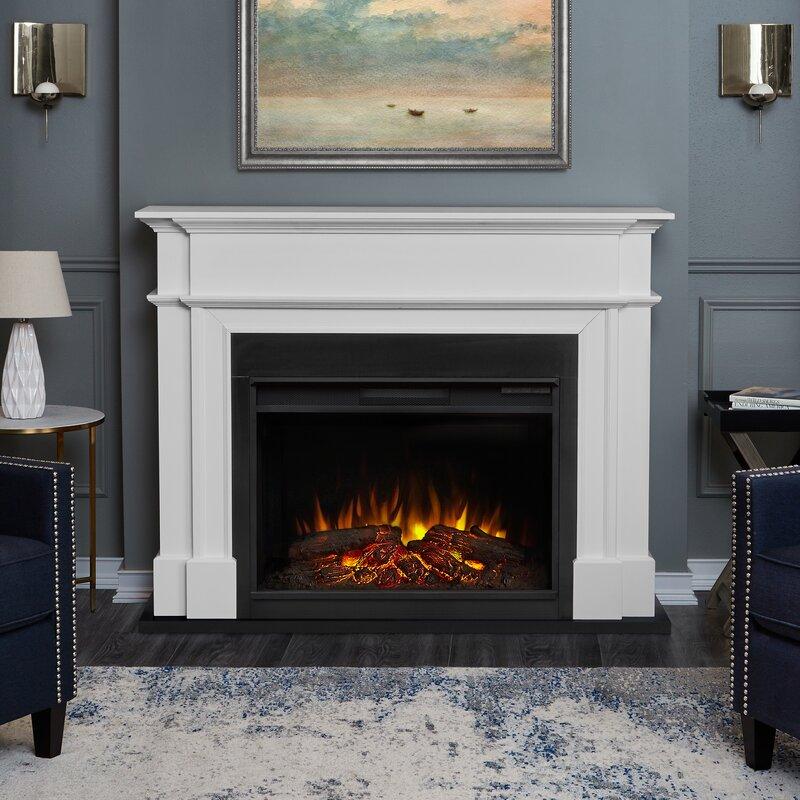 Electric Fireplace real flame electric fireplace : Real Flame Harlan Grand Electric Fireplace & Reviews | Wayfair