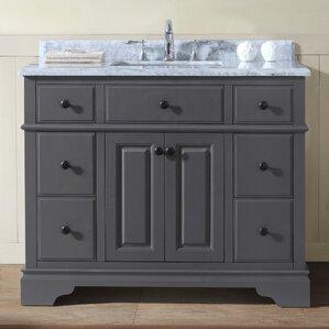 Superb Chela 42 Inside 42 Inch Bathroom Vanity
