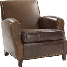 Parisian Leather Club Chair by Leathercraft