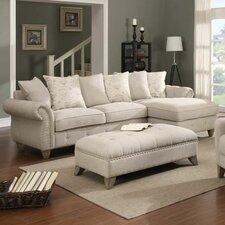 Touchette Beige Armchair by One Allium Way