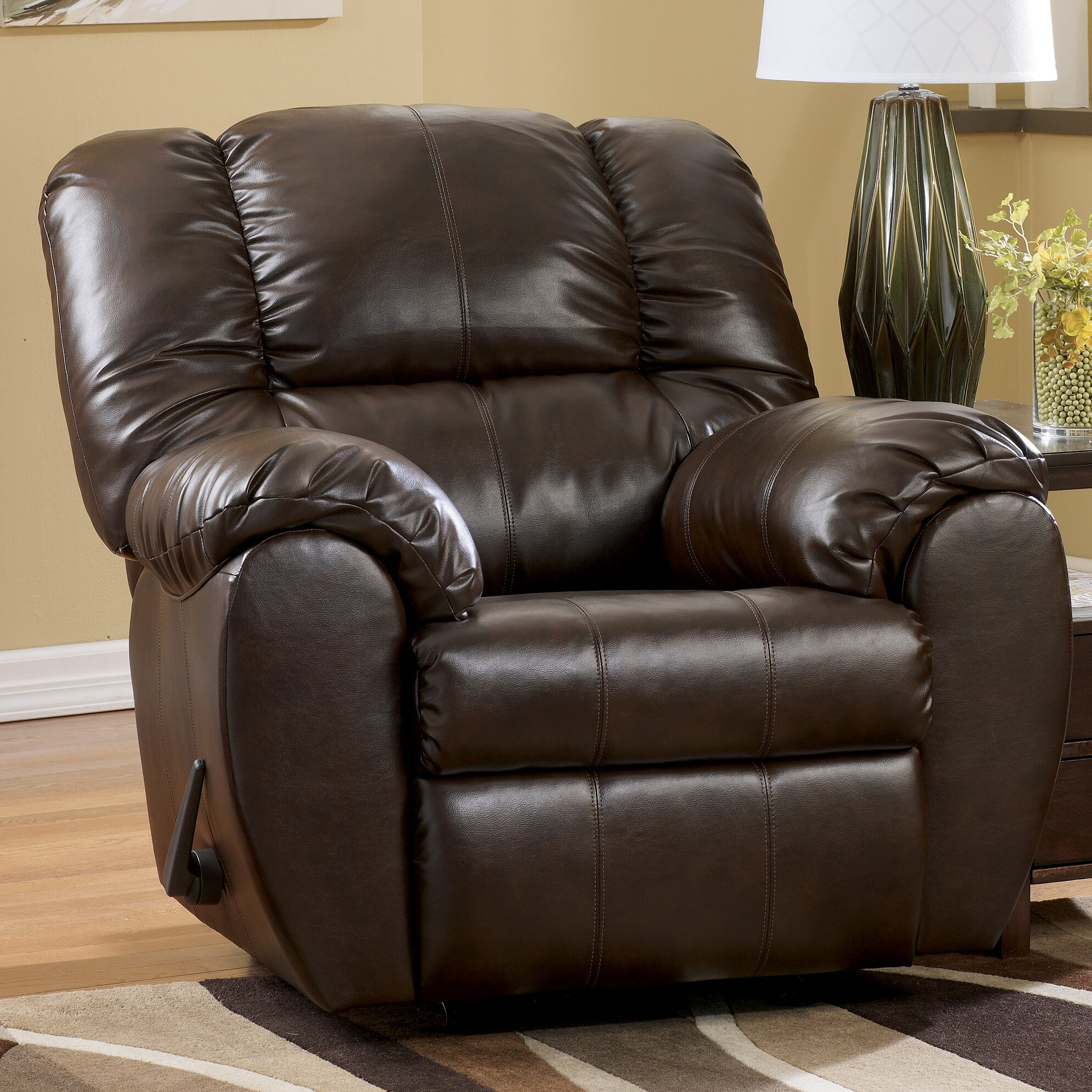 Signature design by ashley jack chaise recliner reviews for Ashley chaise lounge recliner