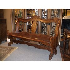 Wood Entryway Bench by Eastern Legends