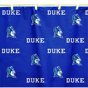 NCAA Duke Cotton Printed Shower Curtain College Covers