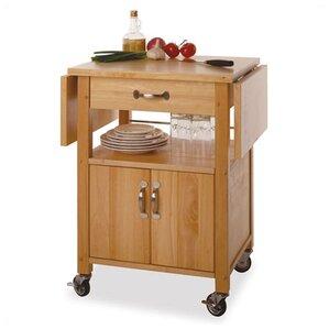 anthem kitchen cart with wooden top. Interior Design Ideas. Home Design Ideas
