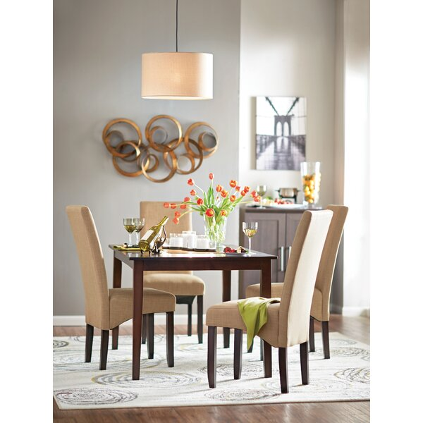 latitude run darryl 5 piece dining set & reviews | wayfair