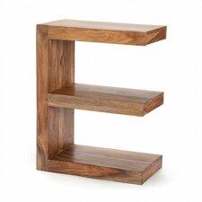 Sheesham Wood E-Shaped End Table by VivaTerra