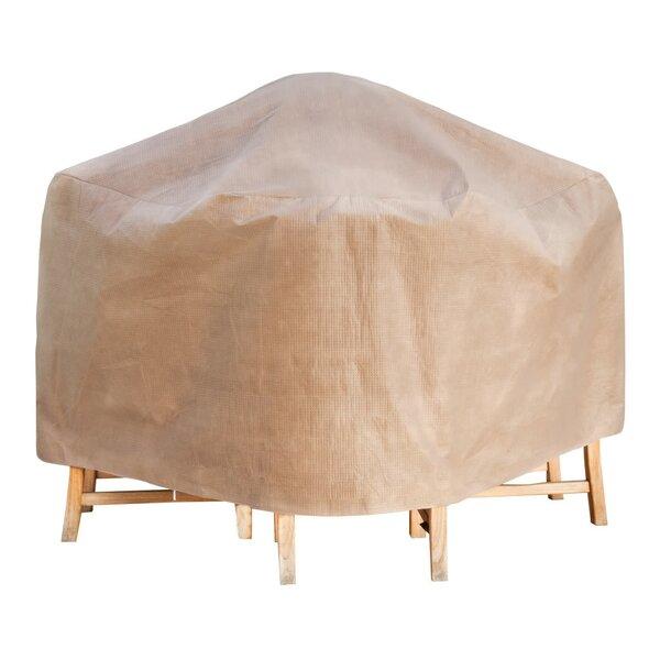 Duck Covers Elite Square Patio Table U0026 Chair Set Cover U0026 Reviews   Wayfair
