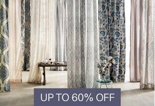 textile cuts curtains
