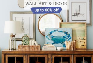 Up to 60% off Wall Art & Decor