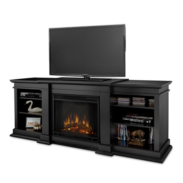 Real Flame Fresno Tv Stand With Fireplace Reviews Wayfair