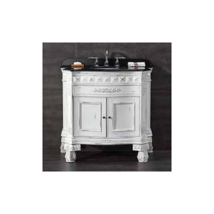 "Bathroom Vanities York Pa ove decors york 36"" single bathroom vanity set & reviews 
