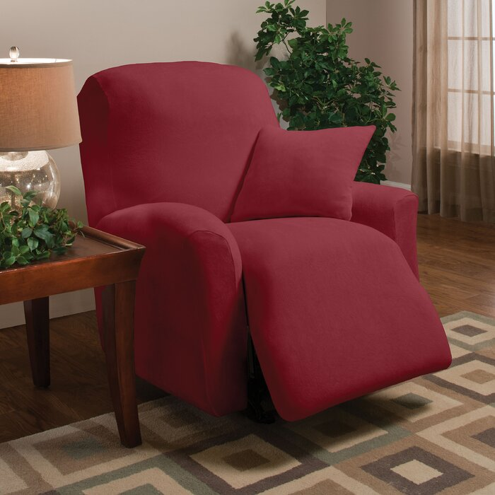Madison Home Stretch Microfleece Large Recliner Slipcover   Reviews    Wayfair. Madison Home Stretch Microfleece Large Recliner Slipcover