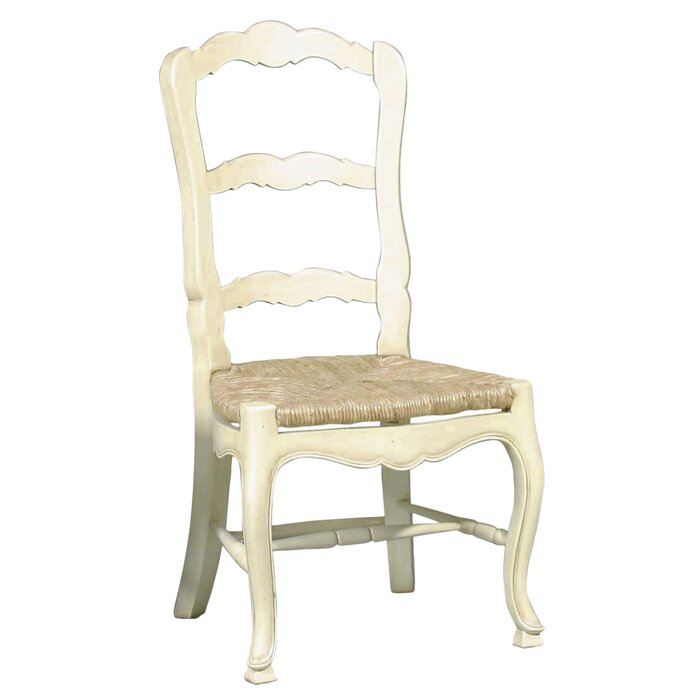 Furniture Classics LTD French Country Ladderback Solid Wood Dining Chair U0026  Reviews | Wayfair