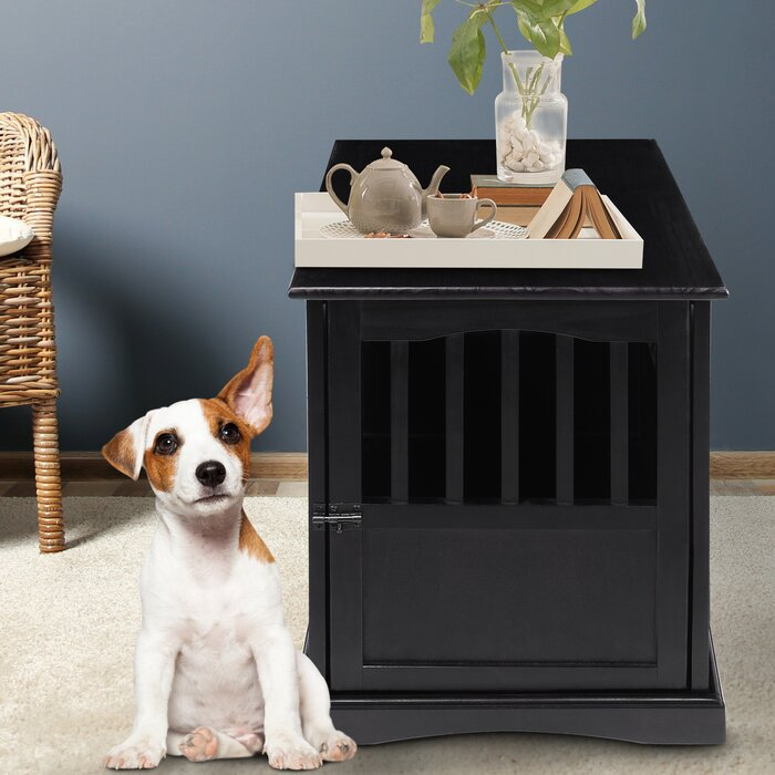 Casual Home Pet Crate End Table U0026 Reviews | Wayfair
