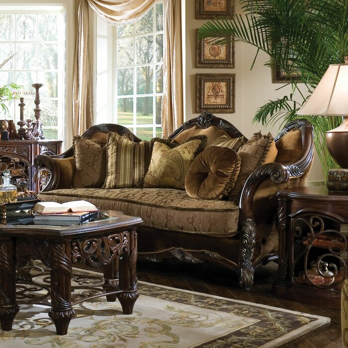 Michael Amini Essex Manor Living Room Collection Reviews Wayfair