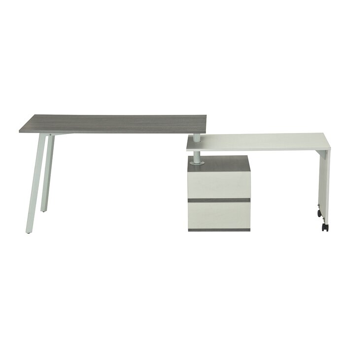 Techni Mobili LShape Computer Desk Reviews Wayfair