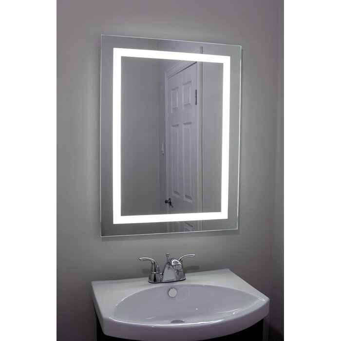 Erias Home Designs Lighted And Illuminated Professional Makeup Mirror U0026  Reviews | Wayfair Good Ideas