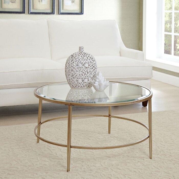 Birch Lane™ Nash Round Coffee Table & Reviews | Wayfair