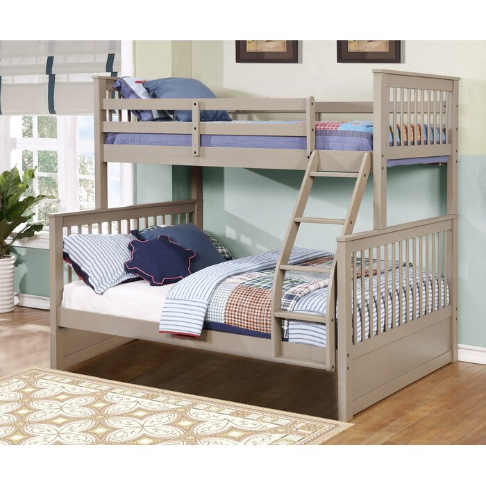 Bunk bed twin over full mattress set large size of bunk for Bunk beds for sale under 200