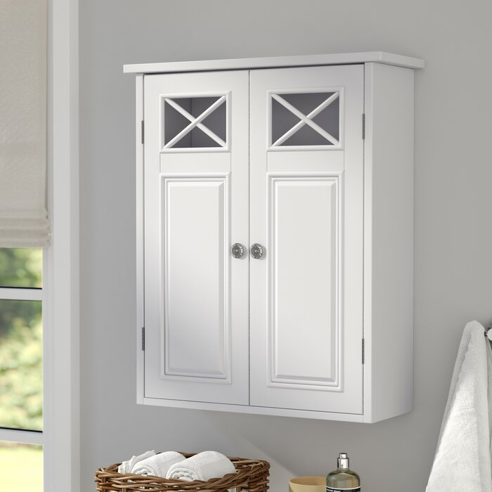"Darby Home Co Coddington 20"" W x 24"" H Wall Mounted Cabinet & Reviews 