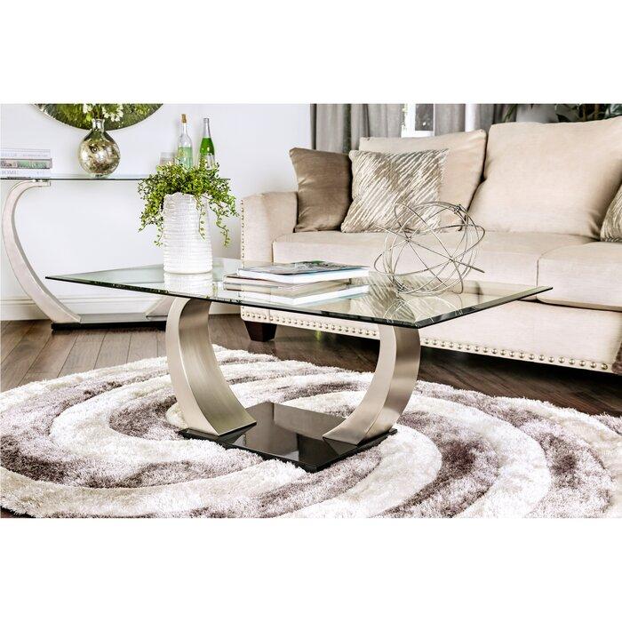 hokku designs natalia coffee table & reviews | wayfair
