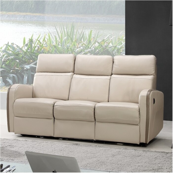 Creative Furniture Argentina Leather Reclining Sofa U0026 Reviews | Wayfair Part 79