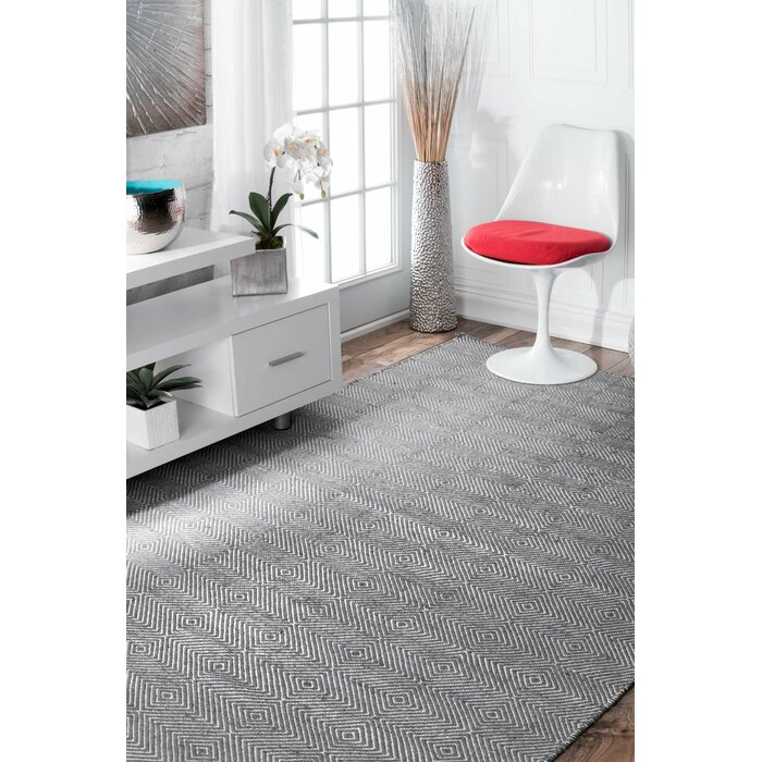 Exceptional Mercury Row Marcelo Gray Area Rug U0026 Reviews | Wayfair
