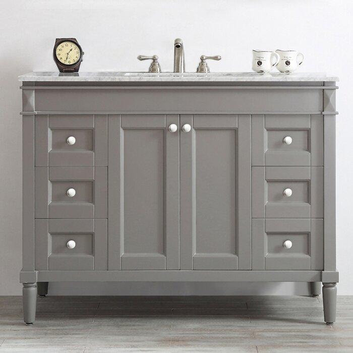 Wayfair Bathroom Vanities | Red Barrel Studio Morris 48 Single Bathroom Vanity Set Reviews