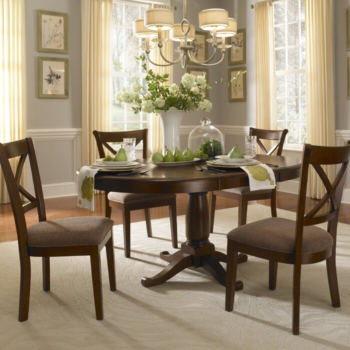 Darby Home Co Kiantone Extendable Dining Table U0026 Reviews | Wayfair