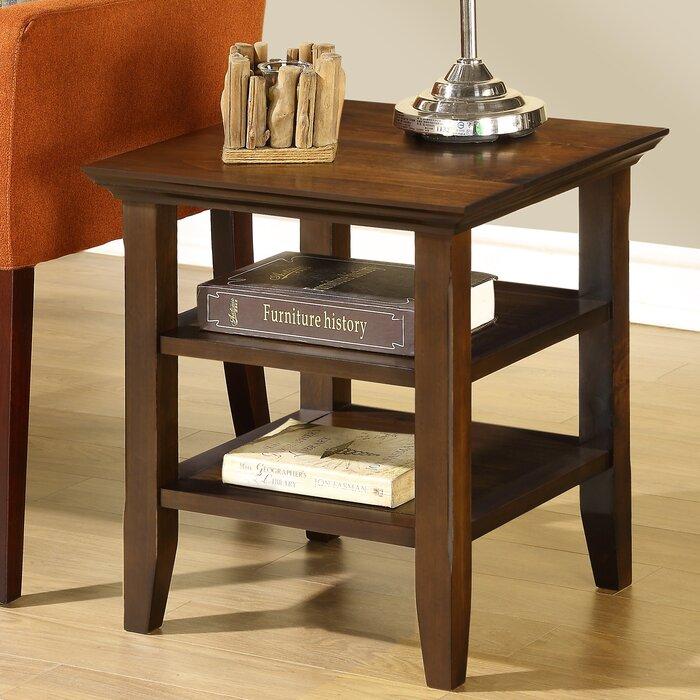 Charlton Home Horace End Table U0026 Reviews | Wayfair