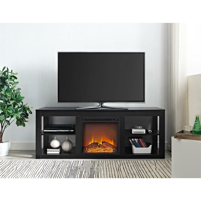Zipcode Design Rickard 59 TV Stand with Fireplace Reviews Wayfair
