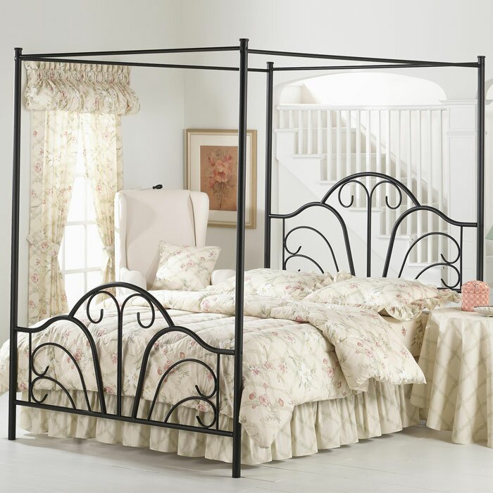 Canopy Beds lark manor aksel canopy bed & reviews | wayfair