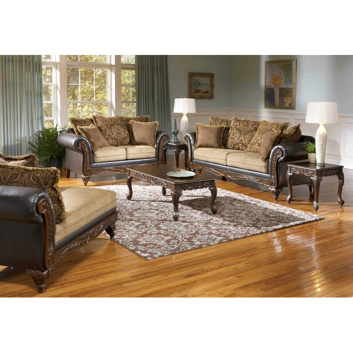 Roundhill Furniture San Antonio 2 Piece Living Room Set Reviews
