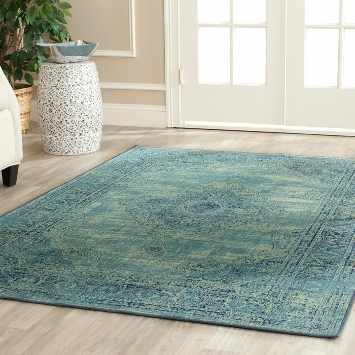 Mistana Makenna Turquoise / Multi Area Rug & Reviews | Wayfair