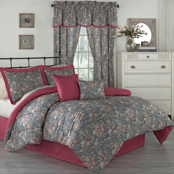 traditions by waverly forever yours 6 piece comforter set u0026 reviews wayfair - Waverly Bedding