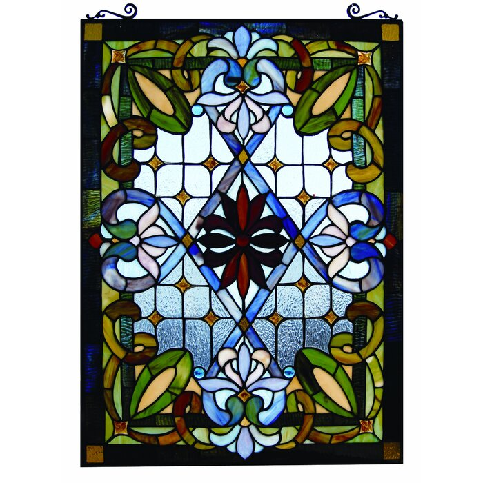 Rectangular Shaped Stained Glass Panels You\'ll Love | Wayfair