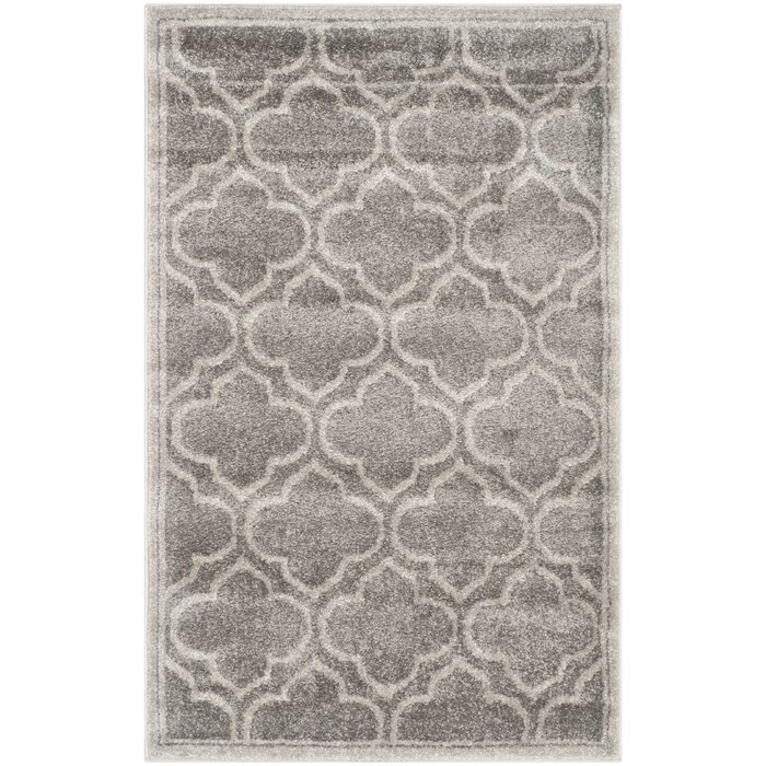 Currey Graylight Gray Outdoor Area Rug Animal Print Rugs Melbourne
