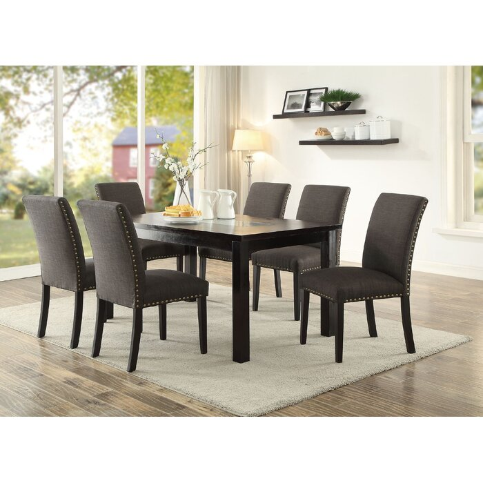 3 sided kitchen booth espresso kitchen dining room sets youll love wayfair