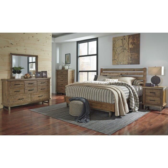 laurel foundry modern farmhouse desjardins queen platform bedroom set u0026 reviews wayfair