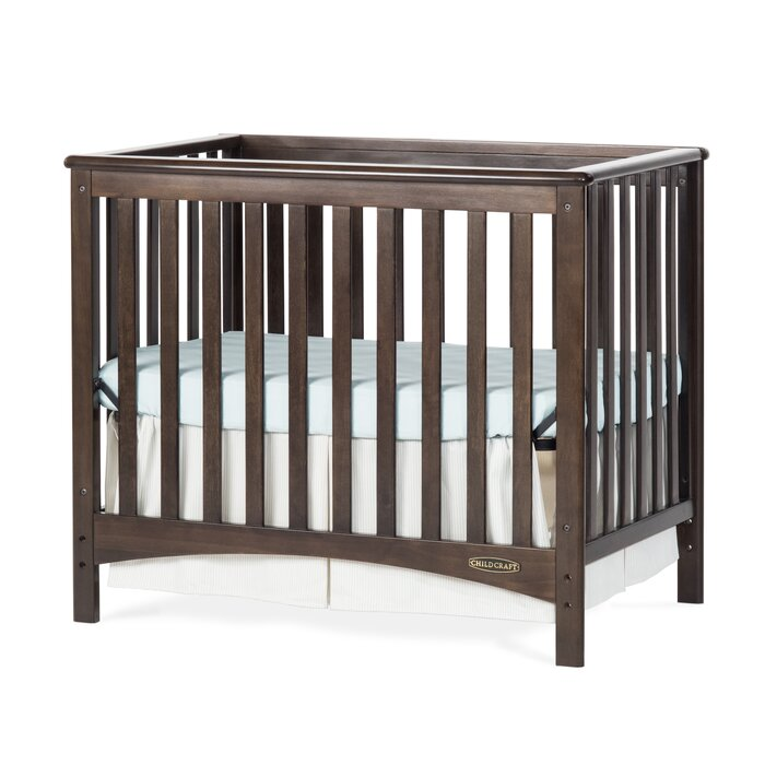 Child Craft London Euro Mini Convertible Crib with Mattress & Reviews |  Wayfair - Child Craft London Euro Mini Convertible Crib With Mattress