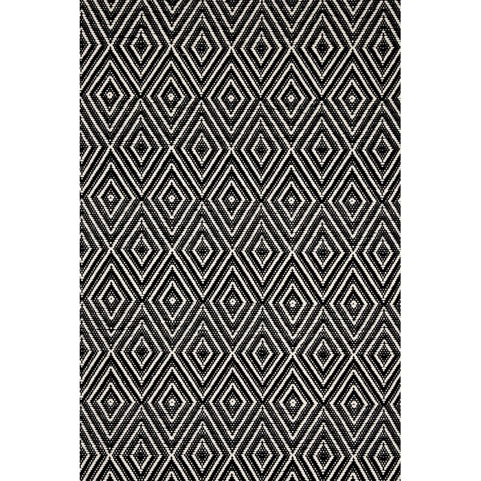 Dash and Albert Rugs Hand-Woven Black Indoor/Outdoor Area Rug & Reviews |  Wayfair