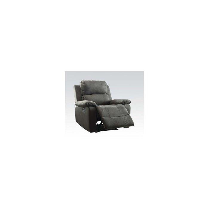 acme furniture bina memory foam manual wall hugger recliner u0026 reviews wayfair - Wall Hugger Recliner