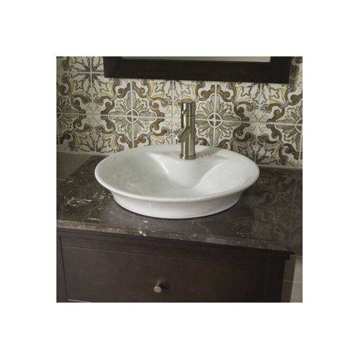 American Standard Circular Vessel Bathroom Sink With Overflow Reviews Wayfair