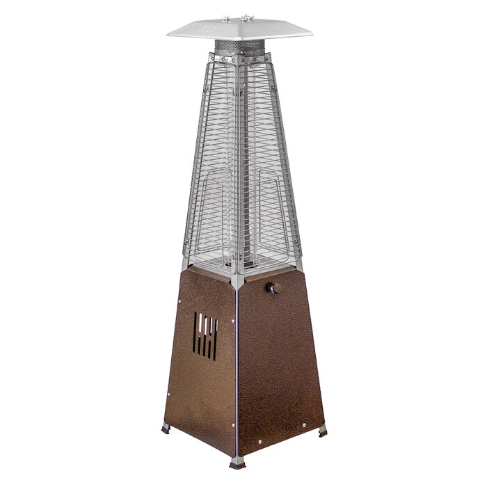 Great AZ Patio Heaters 9,500 BTU Propane Tabletop Patio Heater U0026 Reviews | Wayfair