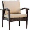 Alcott Hill® Crane Wicker Club Chair with Cushion (Set of 2)